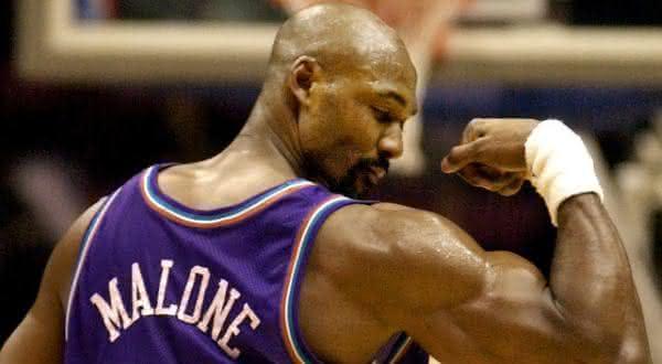 Karl Malone entre os maiores pontuadores da NBA de todos os tempos
