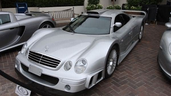 Mercedes-Benz CLK GTR Super Sport 2002 entre os carros da Mercedes Benz mais caros