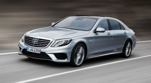 Mercedes Benz S63 AMG entre os carros sedan de luxo mais caros do mundo