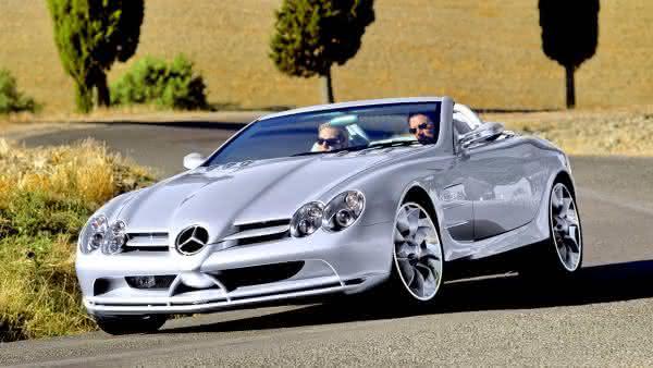 Mercedes Benz vision SLR concept 1999 entre os carros da Mercedes Benz mais caros