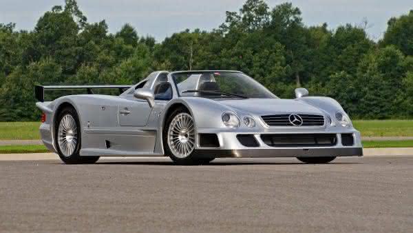 Mercedes CLK-GTR Roadster 2002 entre os carros da Mercedes Benz mais caros