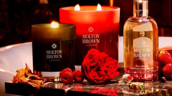 Molton Brown entre as velas mais caras do mundo
