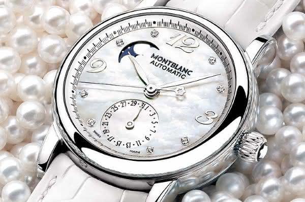 Montblanc Star Lady Automatic Moonphase Diamonds entre os relogios Montblanc mais caros de todos os tempos