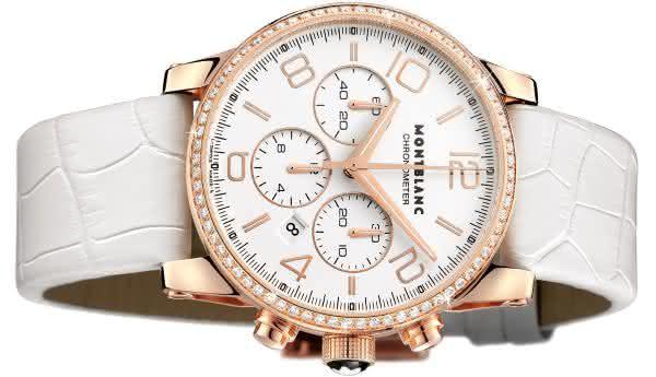 14379796fad Montblanc Timewalker Chronograph Unisex entre os relogios Montblanc mais  caros de todos os tempos