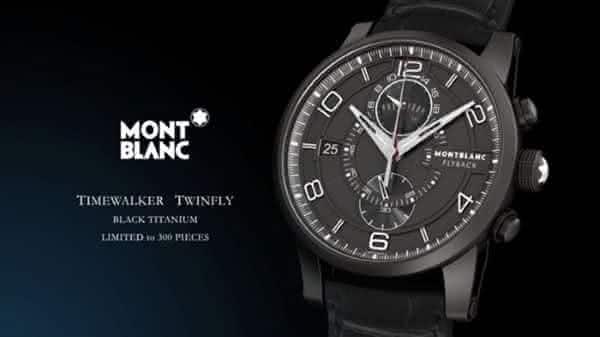 Montblanc Timewalker Metamorphosis entre os relogios Montblanc mais caros de todos os tempos