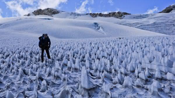 Penitentes entre os fenomenos naturais mais incriveis do mundo