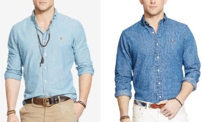 Ralph Lauren entre as marcas de camisas masculinas mais vendidas do mundo
