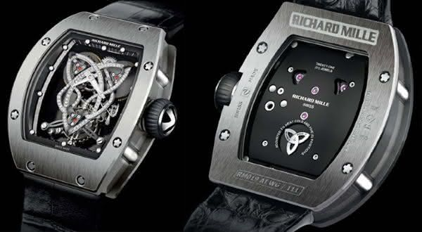 Richard Mille Caliber RM 019 Celtic Knot Tourbillon entre os relogios femininos mais caros do mundo