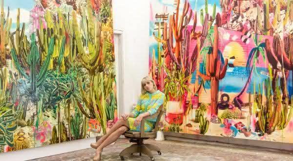 Rosson Crow entre as melhores pintoras do mundo atualmente