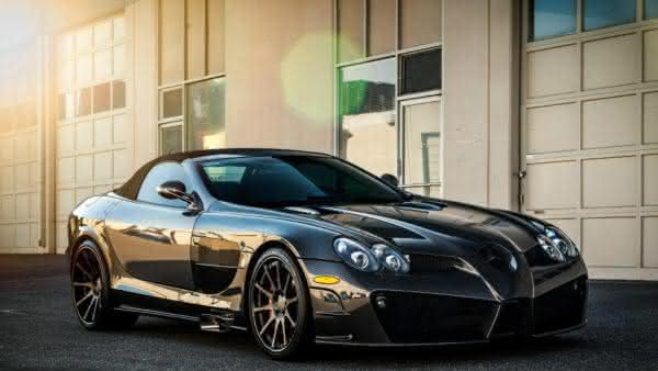 SLR McLaren Mansory Renovatio carros da Mercedes Benz mais caros