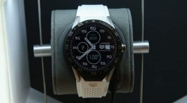 Tag Heuer titanium Carrera Connected entre os smartwatches mais caros do mundo