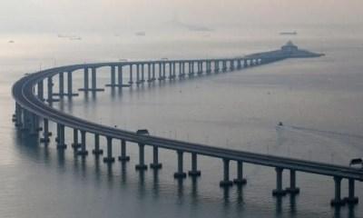 maior ponte do mundo hong kong macau
