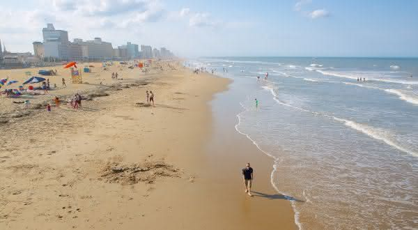 virginia Beach entre as praias mais longas do mundo