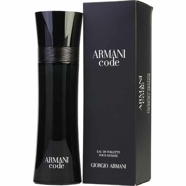 Armani Code Giorgio Armani entre os melhores perfumes importados masculinos