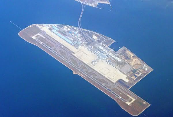 Chubu Centrair International Airport entre as maiores ilhas artificiais do mundo