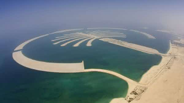 Palm Jebel Ali entre as maiores ilhas artificiais do mundo