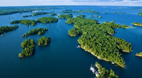 canada entre os paises com mais ilhas do mundo