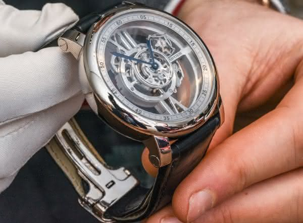 Cartier Rotonde de Cartier Astrotourbillon entre os relogios masculinos mais caros do mundo