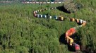 Double Stack Container entre os trens mais longos do mundo