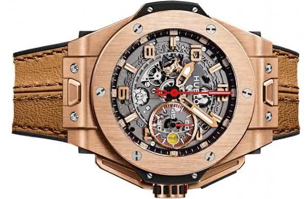 Hublot Big Bang Ferrari King Gold entre os relogios masculinos mais caros do mundo