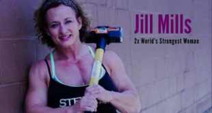 Jill Mills entre as mulheres mais fortes do mundo