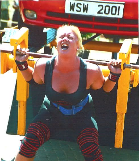 Robin Coleman entre as mulheres mais fortes do mundo