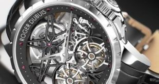 Roger Dubuis Millesime Double Flying Tourbillon entre os relogios masculinos mais caros do mundo