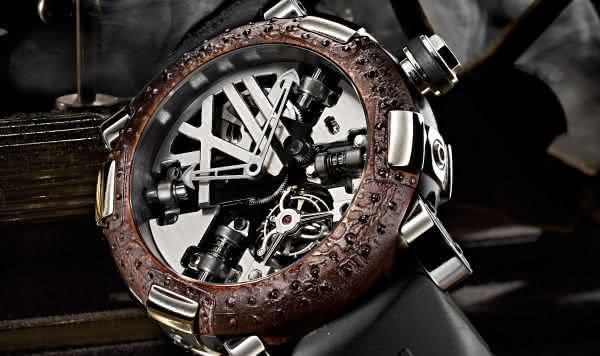 Romain Jerome Titanic DNA Tourbillon entre os relogios masculinos mais caros do mundo