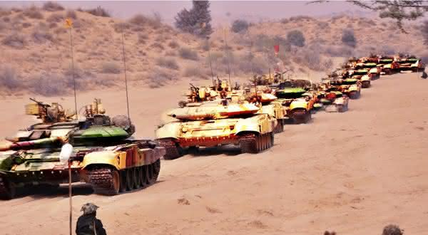 india entre as maiores potencias militares do mundo