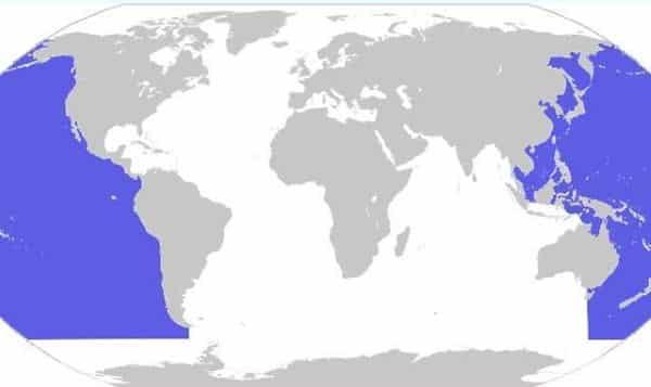 oceano pacifico entre os maiores oceanos e mares do mundo