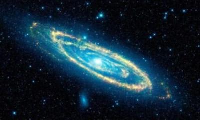 Comet Galaxy entre as maiores galaxias do universo