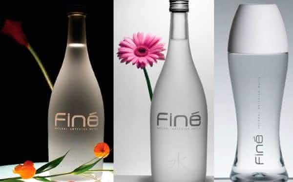 Fine entre as aguas engarrafadas mais caras do mundo