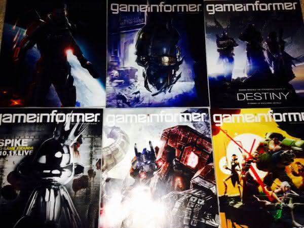 Game Informer entre as revistas mais vendidas do mundo