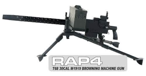RAP4 T68 M1919 Browning entre as armas de paintball mais caras do mundo