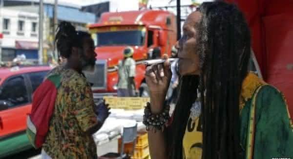 jamaica entre os paises onde as drogas sao legais