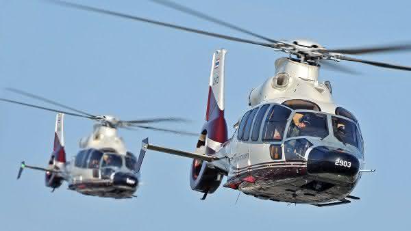 Airbus Helicopters H155 entre os helicopteros mais caros do mundo