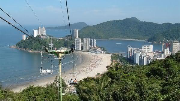 Ilha de Sao Vicente entre as maiores ilhas do brasil