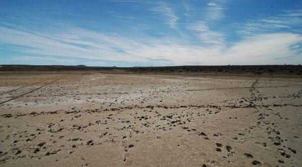 Laguna del Carbon entre os pontos de terra mais baixos do mundo