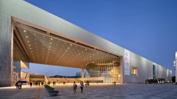 Museu Nacional da Coreia entre os maiores museus do mundo
