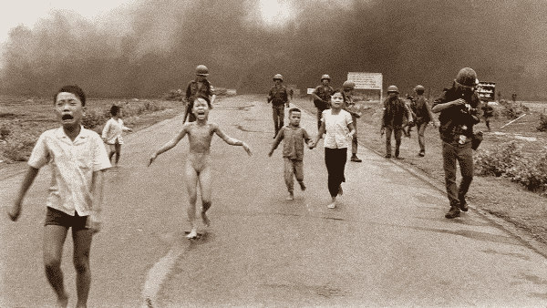 O Terror da Guerra entre as fotos mais influentes de todos os tempos
