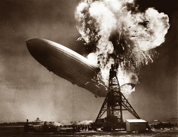 O desastre Hindenburg entre as fotos mais influentes de todos os tempos