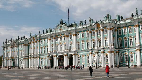 State Hermitage Museum entre os maiores museus do mundo