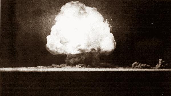 Trinity entre as maiores explosoes ja ocorridas