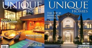 Unique Homes entre as revistas mais caras do mundo