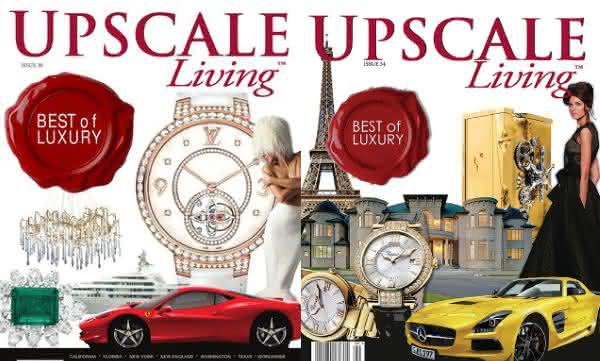 Upscale Living entre as revistas mais caras do mundo