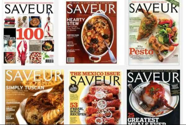 saveur magazine entre as revistas mais caras do mundo