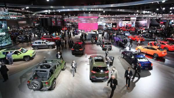 Detroit Auto Show entre as maiores feiras de automoveis do mundo