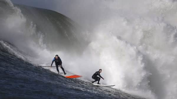 Mavericks entre os locais de surf mais perigosos do mundo