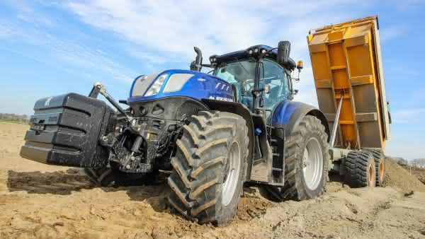 New Holland T7 entre os tratores mais caros do mundo