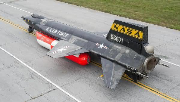 X-15 entre as coisas mais rapidas do mundo